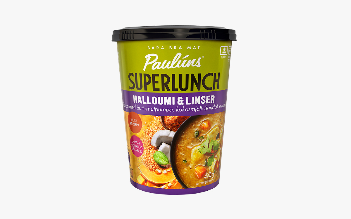 Paulúns Superlunch Halloumi & Linser