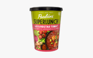 Paulúns Superlunch lax & rostad tomat